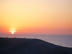 Respective Sunset (somazeon) Tags: japan lumix panasonic  sanddunes tottori  m43