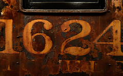Resplendent Retrospection (Junkstock) Tags: aged abandoned artifact artifacts altebenutztegegenstände color closeup corrosion corroded california decay decayed distressed graphics graphic iron locomotive machinery machine numbers number old oldstuff oldandbeautiful oldusedobjects patina paint peelingpaint perris relic rust rusty rustyandcrusty rusted railroad textures texture typography type transportation transport trains text train vintage weathered