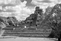 Edzna (S. Peterson) Tags: bw mexico infrared campeche stevepeterson edzna