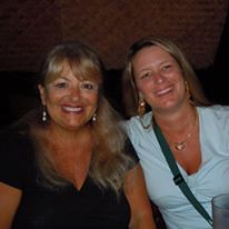 With bestselling author Jill Marie Landis in Hawaii