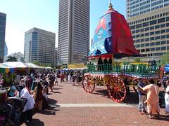 DSCN1155 (ursusdave) Tags: india festival hare baltimore parade krishna chariot 2015 ursusdave davidrobertcrews davidrobertcrews{akaursusdave}