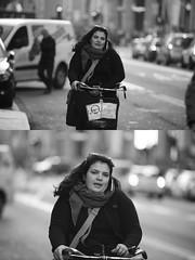 [La Mia Citt][Pedala] (Urca) Tags: portrait blackandwhite bw bike bicycle italia milano bn ciclista biancoenero mir bicicletta 2016 pedalare dittico nikondigitale ritrattostradale 85582