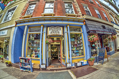 Pickwick Book Shop (JMS2) Tags: street shop sony wide bookstore goods fisheye business storefront sell shopfront consumer