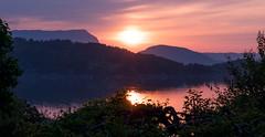 Summer sunset (dan.kristiansen) Tags: summer sommer sunset solnedgang fjord sea coast sj kyst norge norway kvinnherad landscape landskap seascape