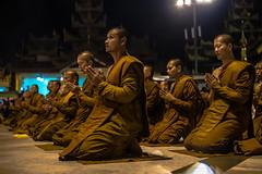 Monks praying at Shwedagon Pagoda (ReinierVanOorsouw) Tags: reizen myanmar birma burma travelling travel travelstoke reiniervanoorsouw sony sonya7r sonya7rii a7rii asia asya azie yangon yangoon rangon rangoon shwedagon shwedagonpagoda pagoda people human asian asianpeople inasia azi travels undiscovered colour colours