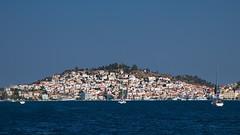 Poros, Greece (antony5112) Tags: houses sea island boat barca mare sailing case greece grecia vela poros isola