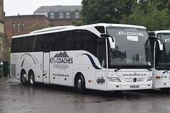 BF16XRS  KT's Coaches, Kendal (highlandreiver) Tags: bus mercedes benz coach cumbria carlisle kts coaches kendal tourismo xrs bf16 bf16xrs