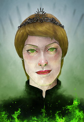 The Mad Queen (Shmoonify) Tags: show painting fire drawing magic digitalart digitalpainting fanart got tvshow hbo wildfire digitaldrawing greenfire gameofthrones digitalillustration lannister lenaheadey cersei cerseilannister gameofthronesfanart luisshmooart shmoonify redditartistnetwork redditartist thelannisterssendtheirregards