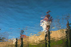 Lighthouse at Sea (Adam Curran) Tags: new lighthouse abstract water saint john outdoors dock waves outdoor brunswick newbrunswick ripples nikkor refelction saintjohn nbphoto nikond3300 d3300