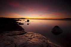 Reflections in Pink_DSC5934 (antelope reflection) Tags: pink sunset lake color reflection beach water clouds utah antelopeisland greatsaltlake utahstatepark nikond90