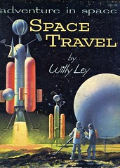 Space Travel (Wires In The Walls) Tags: moon vintage retro astronauts cover sphere 1950s scanned 1958 rocket spaceship willyley johnpolgreen adventureinspace guildpress spacetravelbook