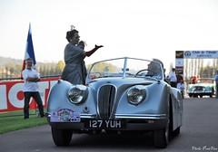 1953 Jaguar XK120 roadster (pontfire) Tags: concoursdélégance britishsportcars jaguarcars jaguarxk120 xk120 xk120roadster dropheadcoupe convertiblecoupe 45èmerallyeparisdeauville rallyeparisdeauville bassenormadie villededeauville classiccars oldcars antiquecars sportcars luxurycars britishcars carsofexception legendcars vieillevoiture voituredesport voitureanglaise voituredeluxe automobiledecollection automobileancienne automobiledeprestige automobiledexception voituredelégende lecalvados bassenormandie 1953 jaguar roadster oldtimer car cars auto autos automobili automobile automobiles voiture voitures coche coches carro carros wagen pontfire normandie normandy france 45erallyeparisdeauville rallyeparisdeauville2011 clubdelauto 53 worldcars 127yuh 50s 自動車 سيارة מכונית