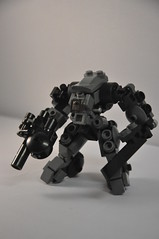 XF-13b Grand Naga (Mitten Ninja) Tags: mobile lego frame zero tabletop mecha mech