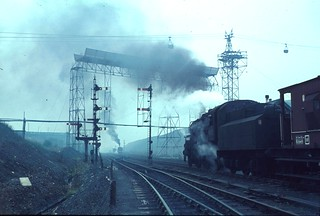 Ashington colliery and railway system, England 1960s