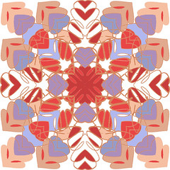 Tile 8 (DeniseCamporeale) Tags: tile mexicantile snowflakedesign valentine hearts star stainedglass pink peach lavendar violet lilac white red yellow taupe homedecor traditionaldecoration europe filigree kitchenart art artwork sunsettones folkart flower quilt motif textile architecture paint 8 point eightpointed artnouveau artdeco decor decoration traditional pattern heart movement motion antique delicate jewelry graphicart graphicdesign logo stationarydesign greetingcarddesign spanish loversknot young fresh flow originalartwork newyorkartist upandcomingartist selftaught photoshop ipadsketch churchwindow