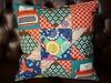 Tile cushion (Reene@Nellie's Niceties) Tags: echino melodymiller rubystarrising rubystarshining tilecushion
