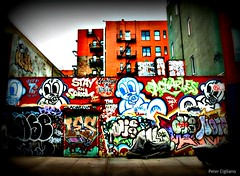 """Lower East Side Manhattan Graffiti • <a style=""""font-size:0.8em;"""" href=""""http://www.flickr.com/photos/23470437@N08/7009459487/"""" target=""""_blank"""">View on Flickr</a>"""