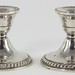 175. Pair of Sterling Weighted Candlesticks