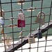 Love-locks on the Pont Neuf