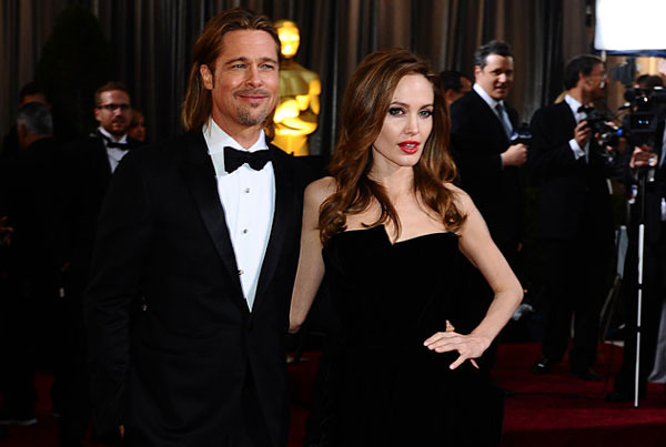 couples brad angelina