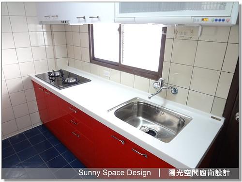 廚具工廠-新莊中港二街王先生廚具-陽光空間廚衛設計6