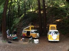 Fernwood, Big Sur (spieri_sf) Tags: camping bus vw volkswagen 1975 1977 camper t2 westfalia