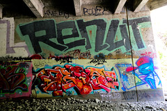 Renut, Deb8 (You can call me Sir.) Tags: california graffiti bay south bayarea northern renut deb8 qytu