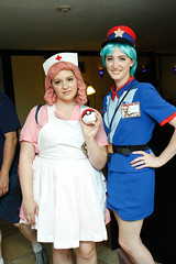 _MG_7431 (FirstPerson Shooter) Tags: cosplay pokemon nursejoy officerjenny portcon portconmaine portcon2012