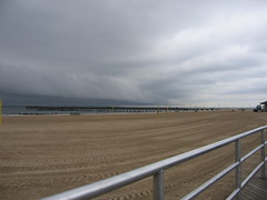 clouds (derekb) Tags: ny newyork beach brooklyn clouds coneyisland