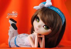 Suri (new eyes and new dress) (Aaliyoh Boy) Tags: b by doll dress handmade groove pullip suri obitsu junplanning rewigged rechipped youtsuzu aaliyoh aaliyohboy