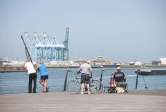 Zeebrugge (VISITFLANDERS) Tags: sea coast harbor europe belgium shore northsea flanders zeebrugge visitflanders