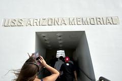 Arizona Memorial (Entrance) (MitchRJ81) Tags: ocean arizona island hawaii harbor memorial oahu navy pearl uss wrecks 2012