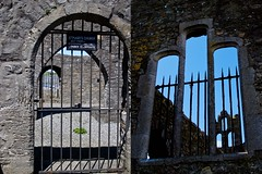 through the bars (glasnevinz) Tags: ireland howth dublin saintmaryschurch binnadair