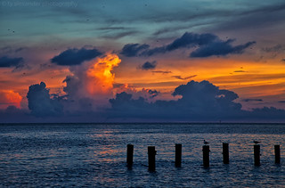 Clouds on Fire (Explored)
