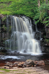 East Gill Force (rgarrigus) Tags: longexposure summer england green river landscape waterfall stream yorkshire telephoto cascade yorkshiredales slowshutterspeed keld greatphotographers eastgillforce garrigus robertgarrigus robertgarrigusphotography