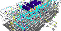 "3D BIM High Rise Plumbing Design • <a style=""font-size:0.8em;"" href=""http://www.flickr.com/photos/79462713@N02/7593191410/"" target=""_blank"">View on Flickr</a>"
