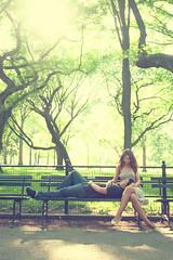 Alliah & John E Session (JosephPadiernos) Tags: park nyc newyorkcity people lake newyork male green love nature john engagement nikon couple sweet centralpark newyorker partners allia esession