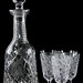 194. Waterford Crystal Decanter and Cordials