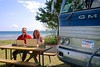 """Chris & Cherie at work - J W Wells State Park, Cedar Rivers, MI • <a style=""""font-size:0.8em;"""" href=""""https://www.flickr.com/photos/36701684@N02/7705464370/"""" target=""""_blank"""">View on Flickr</a>"""