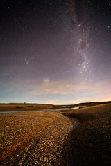 The Milky Way from the Bottom of the Ocean (lrargerich) Tags: ocean sea shells water pool night clouds way nightscape floor tide low carina nebula astrophotography tarantula astronomy lowtide smc milky tidal eta 47 lmc magellan milkyway canopus tucanae coalsack