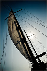 Surf The Wind #1 / Surfer sur le Vent #1 (mr.letof) Tags: blue sea sky mer vent boat nikon sailing wind kos bleu greece ciel bateau voile grce cos rigging lightroom dodecanese grement d700 dodcanse nikond700 mrletof sigma2470mmf28ifexdghsm