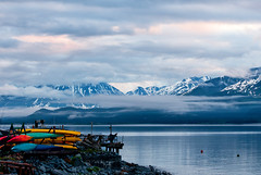 5 AM (Happy Photographer) Tags: pink mountains water alaska clouds sunrise boats seward resurrectionbay mygearandme mygearandmepremium mygearandmebronze mygearandmesilver topphotospots tpslandscape