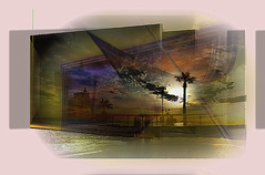 Melilla (Jocarlo) Tags: sunset sky sun art sol clouds edificios amanecer nubes photowalk imagination playas melilla calles parques magicalskies montajesfotográficos photowalkmelilla pwmelilla jocarlo magicalskiesmick