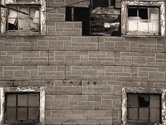 5 Stages of Decay (Lagace Photography) Tags: old blackandwhite canada building decay holes newbrunswick rune brokenwindow fallingapart saintjohn