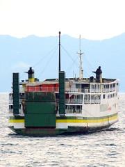 M/V Reina Del Rosario Stern Shot (Irvine Kinea) Tags: ocean life voyage city trip travel bridge cruise sea travelling water beautiful lines ferry port marina