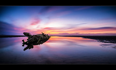 Mortal (scott masterton) Tags: uk light sunset seascape scott landscape scotland long exposure pentax craft mini x submarine east coastal lothian fascinating masterton aberlady sigma1020mm nd400 vle ndx400 k200d