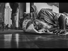 A Pious Soul (explored) (Shutterfreak ☮) Tags: life street sleeping people monochrome nikon muslim religion documentary beards oldman mosque cap tired dhaka spiritual ramadan fatigue bangladesh fasting cloaks veils pious d5000 inkiad