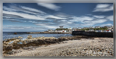 Harbour Wall Findochty (Bill McKenzie / bmphoto) Tags: coast fishing harbour best moray findochty