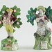 222. Pair of Staffordshire Figures