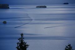Aligned (K M V) Tags: blue lake water suomi finland landscape boats islands finnland waterway finlande koli lakelandscape kesäsuomi somethingblueinmylife finlandinsummer landscapewithboats